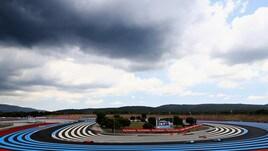 F1 Francia, Libere 3 sotto la pioggia: Vettel 5°