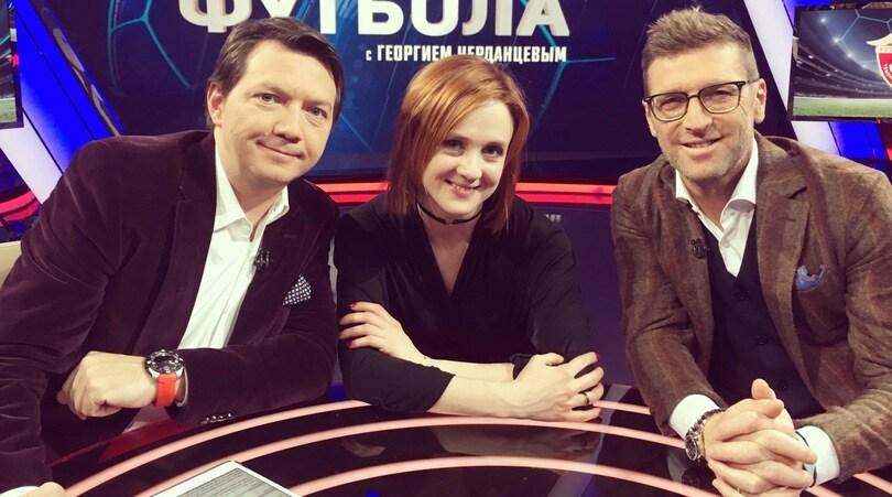 Maria, la telecronista russa tra Premier League e Playboy