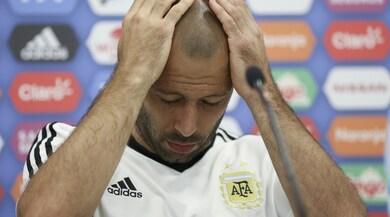 Argentina, tensione a mille: Mascherano stravolto