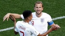 Mondiali 2018, Inghilterra-Panama 6-1: tripletta di Kane, nuovo re dei bomber