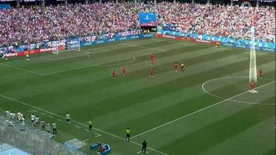 Il Panama prova a segnare mentre l'Inghilterra esulta
