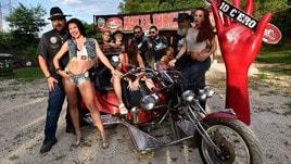 Harley-Davidson, show a Valmontone