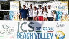 Beach Volley: Tour Lazio - Panici-Saturnino (M) e Culiani-Luca (F) conquistano Sperlonga