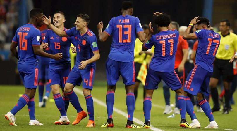 Colombia-Polonia, partita del Gruppo H dei Mondiali, è finita 3-0