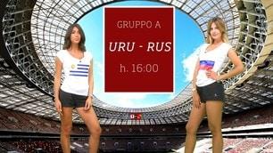Sfide Mondiali: Uruguay-Russia