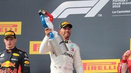 F1, Hamilton stacca tutti nelle quote per la vittoria