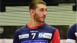 Volley A2 maschile - Il centrale Federico Mazza da Monza a Catania