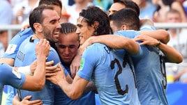 Mondiali 2018, Uruguay-Russia: le immagini della partita