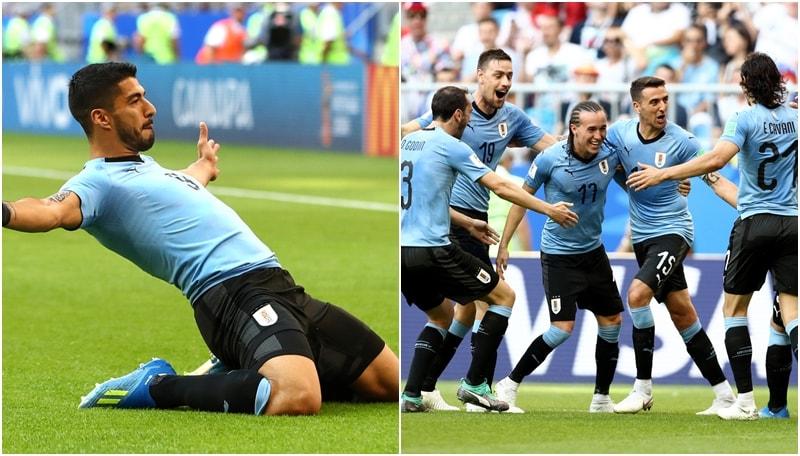 Uruguay-Russia: il film della partita