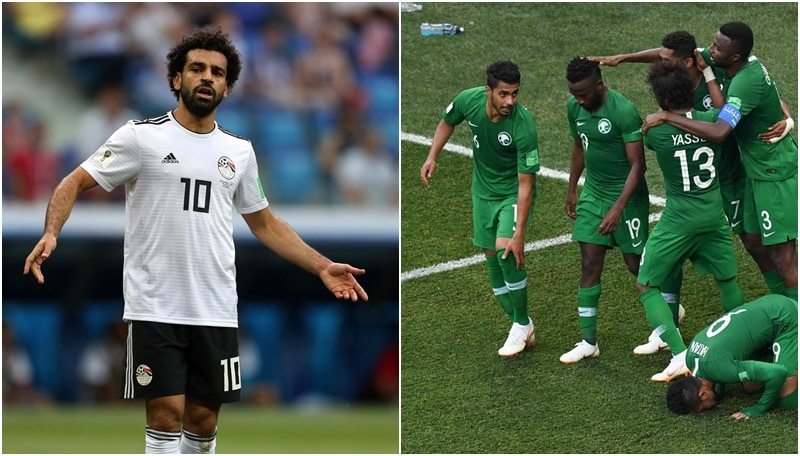 Arabia Saudita-Egitto: gli africani chiudono da ultimi del girone