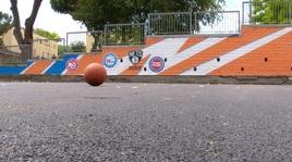 Gallinari inaugura il campo di basket al Parco della Cecchina