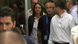 Inter: Nainggolan abbraccia i tifosi nerazzurri