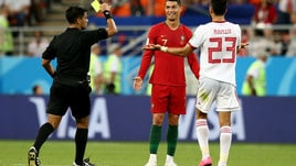 Ronaldo rischia il rosso, Caceres lo grazia