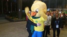 Brasile, la security russa ferma Canarino Pistola