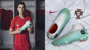 Cristiano Ronaldo, scarpini speciali per gli ottavi