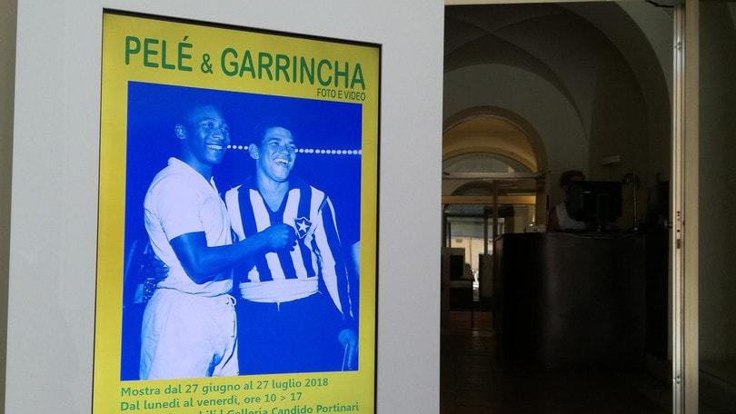 Pelè e Garrincha in mostra all'Ambasciata brasiliana