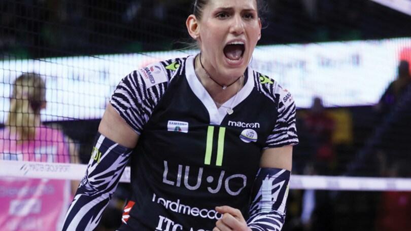Volley A1 femminile: Bergamo ufficializza l'arrivo di Camilla Mingardi