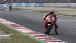 MotoGp Honda, Marquez: «Sto ancora imparando. Da Valentino o Lorenzo»