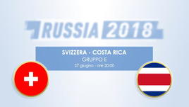 Svizzera - Costa Rica, il testa a testa