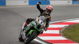 Superbike Kawasaki, Rea: «Questo weekend è andato a gonfie vele»