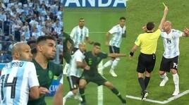Nigeria-Argentina, rigore molto dubbio suBalogun