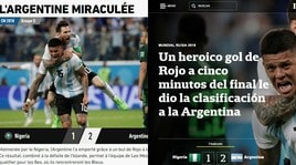 Argentina, il trionfo sui media stranieri: «Miracolata»