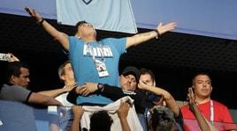Maradona rassicura tutti: «Sto bene». E spunta l'audio con la compagna