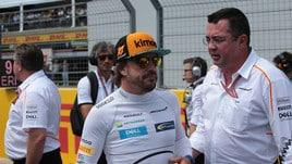 F1 McLaren, Alonso: «Preferisco essere ultimo che stare a casa»