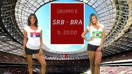 Sfide Mondiali: Serbia-Brasile