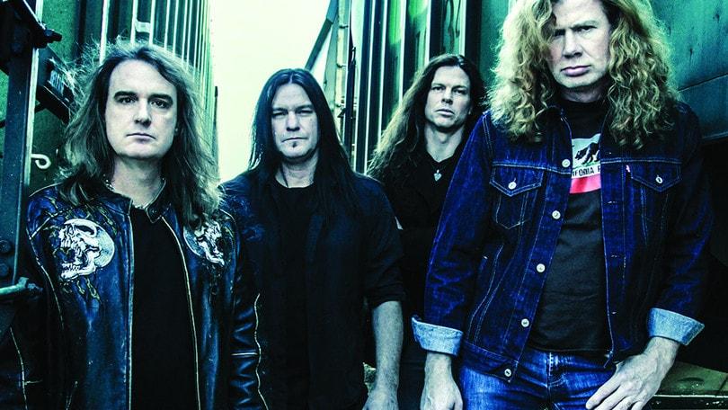 I Megadeth domani a Rock in Roma
