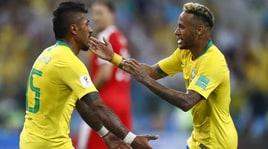 Mondiali 2018, Brasile e Svizzera agli ottavi di finale