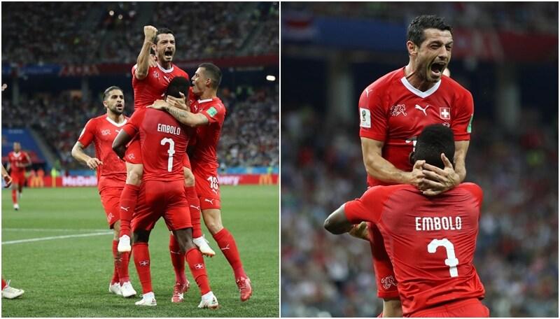 Mondiali: la Svizzera festeggia il passaggio agli ottavi