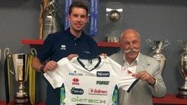 Volley Superlega: Van Garderen ha incontrato media e tifosi di Trento