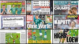 Germania fuori dal Mondiale, le prime pagine estere