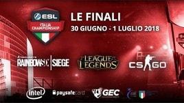 EIC: al Vodafone Theatre le finali dell'ESL Italia Championship