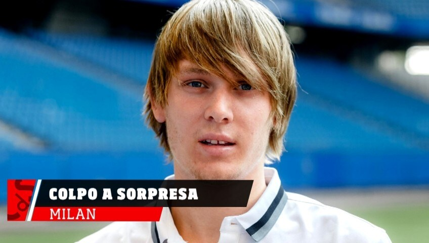 Milan, colpo Halilovic