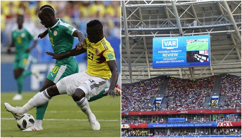 Senegal-Colombia: il Var toglie un rigore a Manè