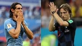 Uruguay e Croazia, sette milioni vanno all'assalto del Mondo
