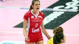 Volley A2 femminile: La greca Vasilantonaki a Filottrano