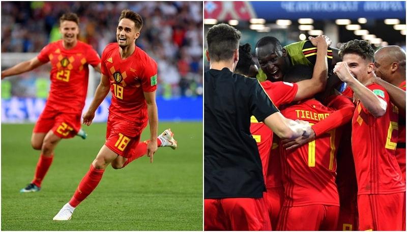 Inghilterra-Belgio 0-1: i diavoli rossi si qualificano come primi