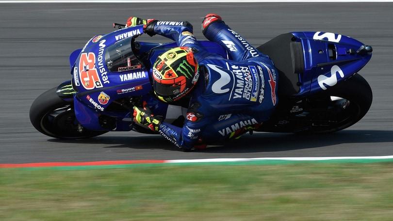 MotoGp Olanda libere 2 Viñales realizza il primo tempo Rossi 4