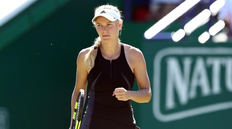 Wta Eastbourne, Wozniacki vola in finale: affronterà Sabalenka