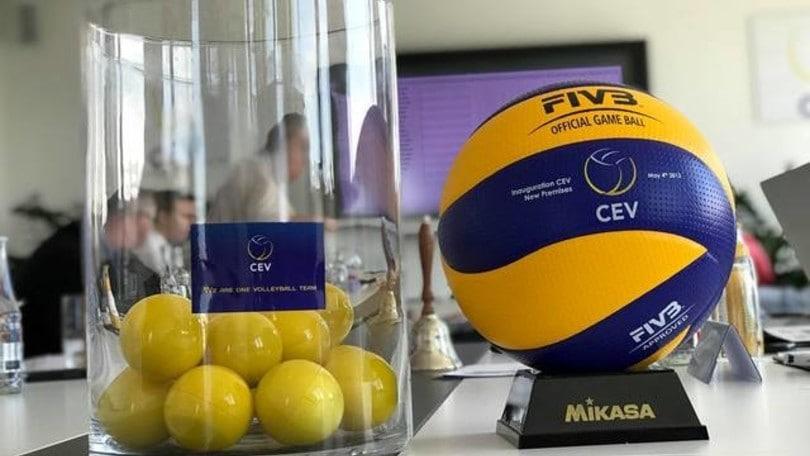 Volley Coppe Europee - Effettuati a Lussemburgo i primi sorteggi