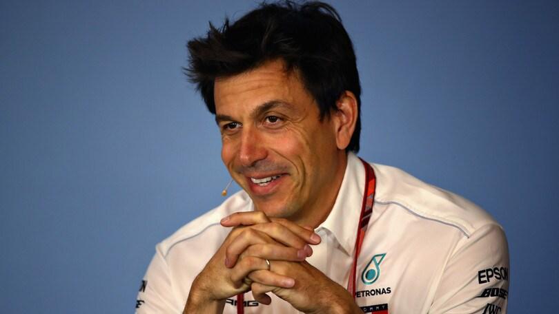 F1 Mercedes, Wolff: «L'automobilismo ci ha insegnato l'umiltà»
