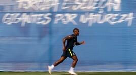 Il Brasile sorride: Douglas Costa torna a correre