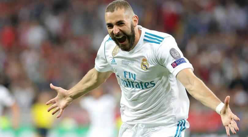 Dall'Inghilterra: Napoli, 45 milioni per Benzema