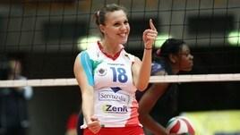 Volley A2 femminile - Chiara Lapi nuova centrale di Perugia