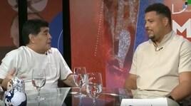 Maradona a Ronaldo: «Senza infortuni saresti stato il migliore della storia»