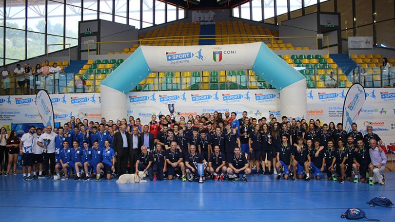 Volley Trofeo delle Regioni: trionfo per il Lazio femminile e la Lombardia maschile