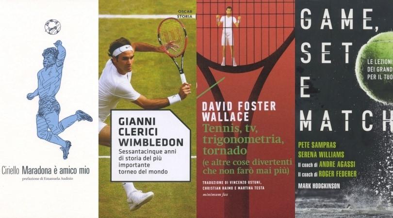 Vita parallela con Maradona e tre libri sul Tennis